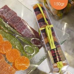 Pâtes de fruits réglettes 150gr