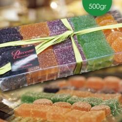 Pâtes de fruits en boîte 500gr
