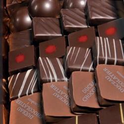 Ballotin de 500gr, assortiment de bonbon de chocolat de la Chocolaterie-Duceau
